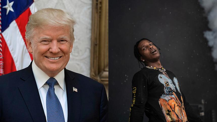 Donald Trump vil hjælpe A$AP Rocky
