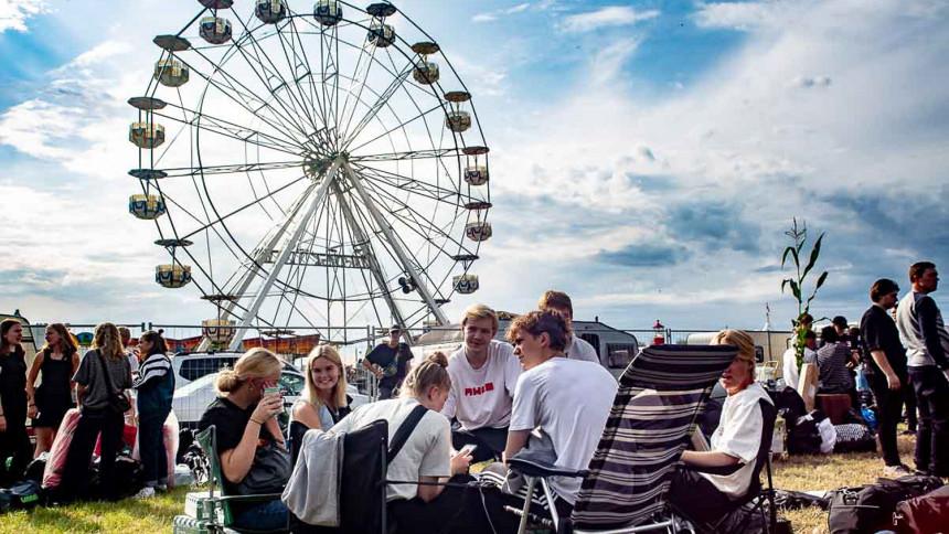 FOTOSERIE: God stemning på Bork Festival