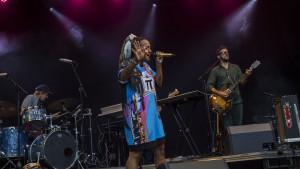 Barbara Moloko, Smukfest, Sherwoodscenen