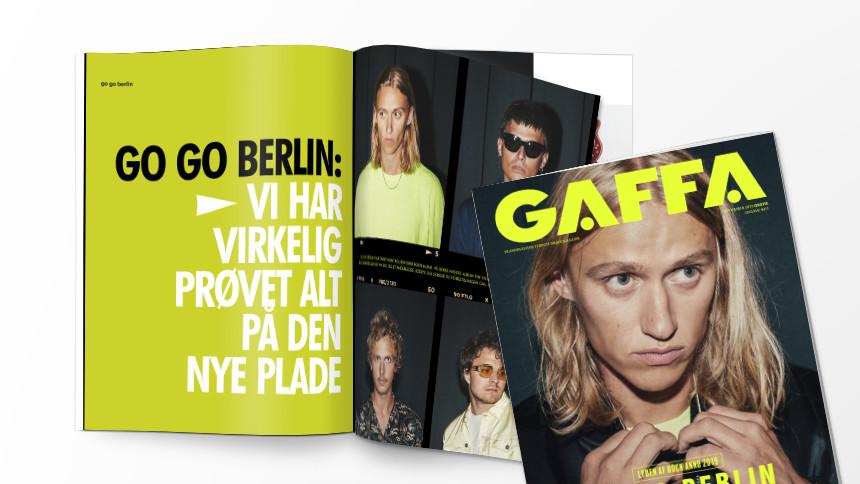 GAFFAs septembermagasin - på gaden i morgen!