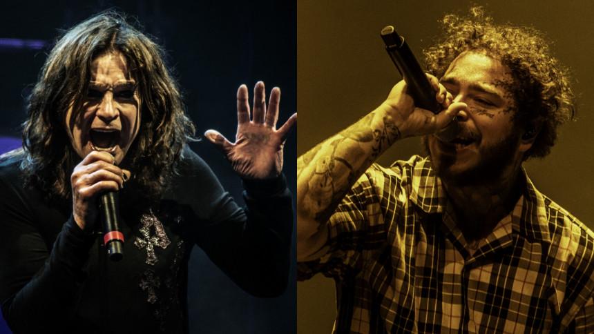 VIDEO: Ozzy joiner Post Malone og Travis Scott på scenen til AMA