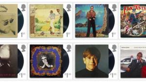 Elton John-frimærker 2019
