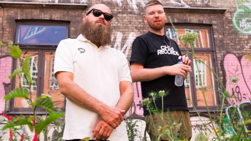 Danskhall-duoen er tilbage i fuld effekt