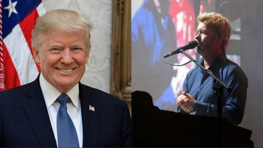 """A-ha-medlem kritiserer Trump efter """"Take On Me""""-lignende video"""