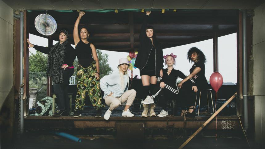 Kvindeligt hiphop-lineup sætter fut i Forbrændingen