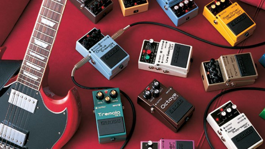 Historien om BOSS-guitarpedaler