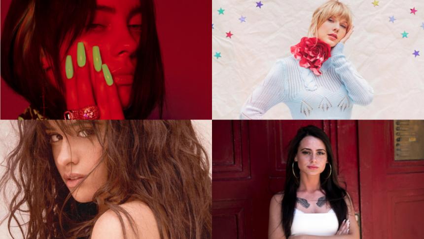 Før Kvindernes Internationale Kampdag: Her er de 10 mest streamede kvindelige kunstnere