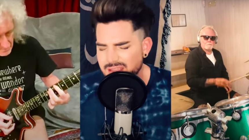 Queen + Adam Lambert udgiver ny version af klassiker som WHO-støttesang