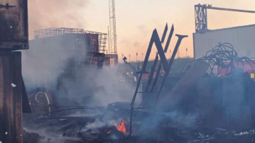 """Brand på Copenhell: """"Års arbejde er væk"""""""