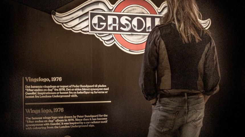 Gasolin'-udstilling: Skipper Skræk, Harleyer og frække chicks