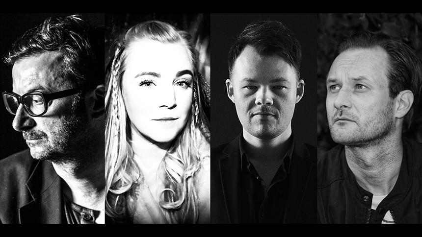 Fire danske trubadurer tager på turné
