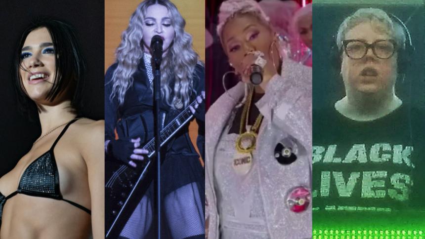"""Lyt: Madonna og Missy Elliott er med på et nyt remix af Dua Lipas """"Levitating"""""""