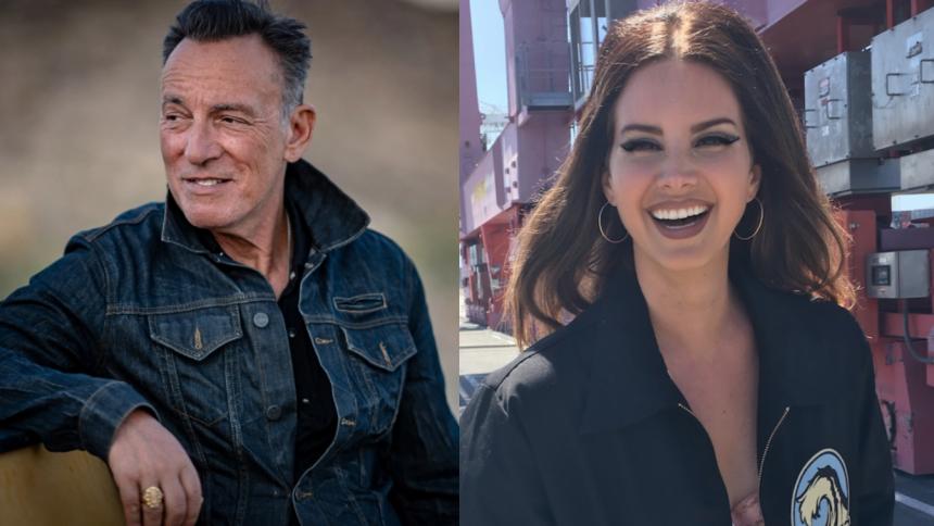 Bruce Springsteen roser Lana Del Rey til skyerne