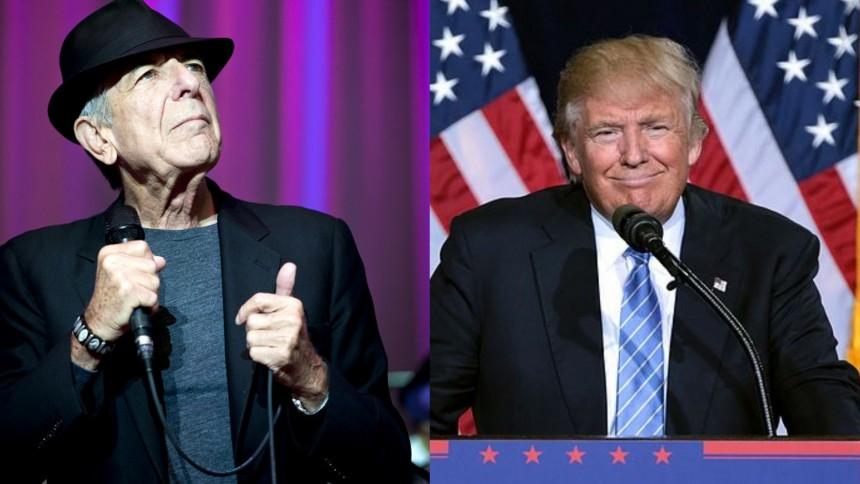"""Leonard Cohens talsmænd til Republikanerne: """"Vi forbød specifikt dén sang"""""""