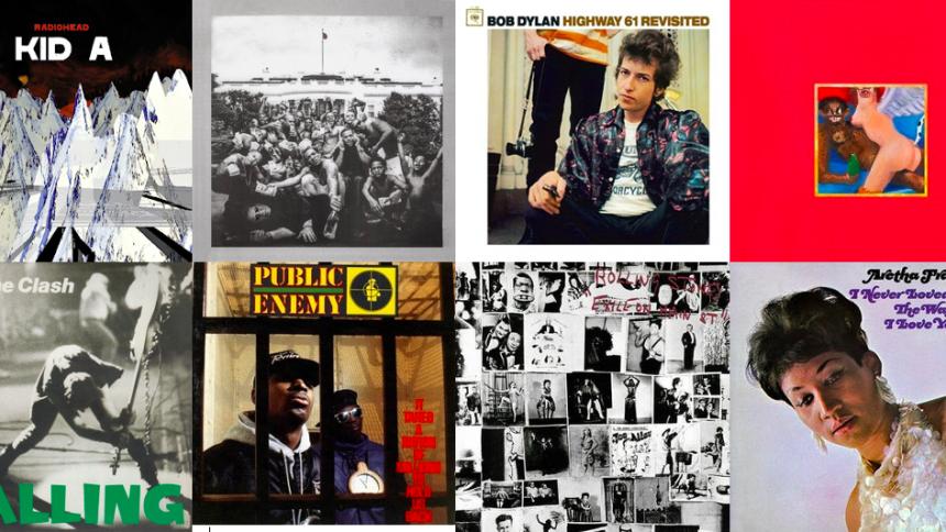 Rolling Stone kårer verdens 500 bedste album