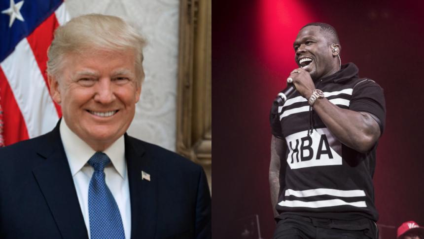 "50 Cent støtter Donald Trump, selvom han ""ikke kan lide sorte mennesker"""