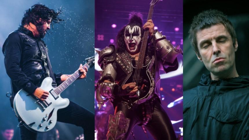 Derfor er Dave Grohl og Liam Gallagher ikke rockikoner – ifølge Gene Simmons