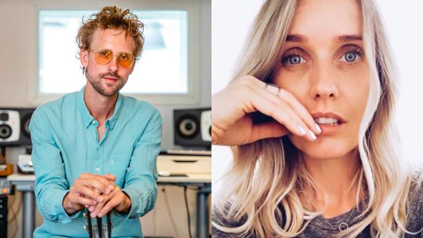 REPORTAGE: Til master class med hitsangskriverne Emil Falk og Viktoria Siff Hansen
