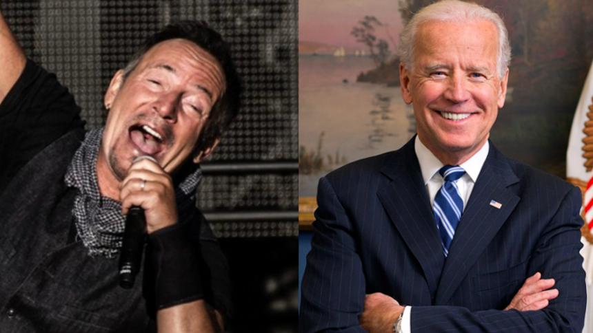 Stjerneparade hylder Joe Biden ved indsættelsen
