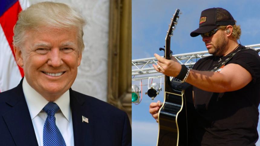 Mens Kongressen stemte om rigsretssag, uddelte Trump medaljer til countrystjerner