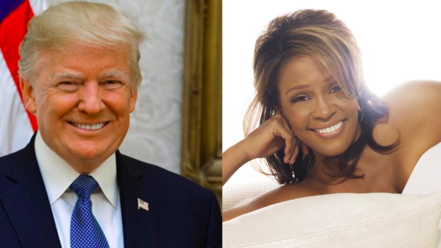 Donald Trump beordrer statuer opført af Whitney, Aretha, Elvis med flere