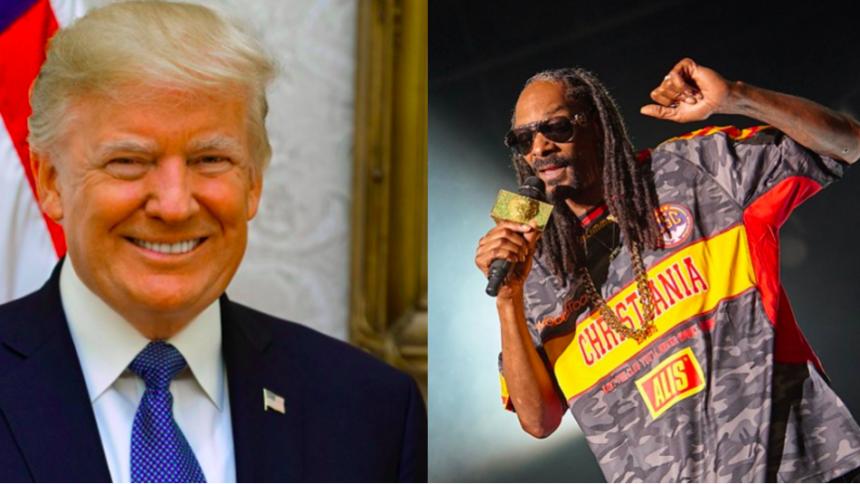 Snoop Dogg roser Donald Trump