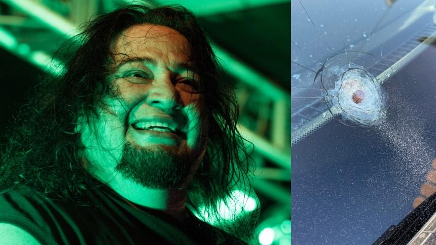 """Metalguitaristens bil beskudt: """"Jeg har tre fjender"""""""