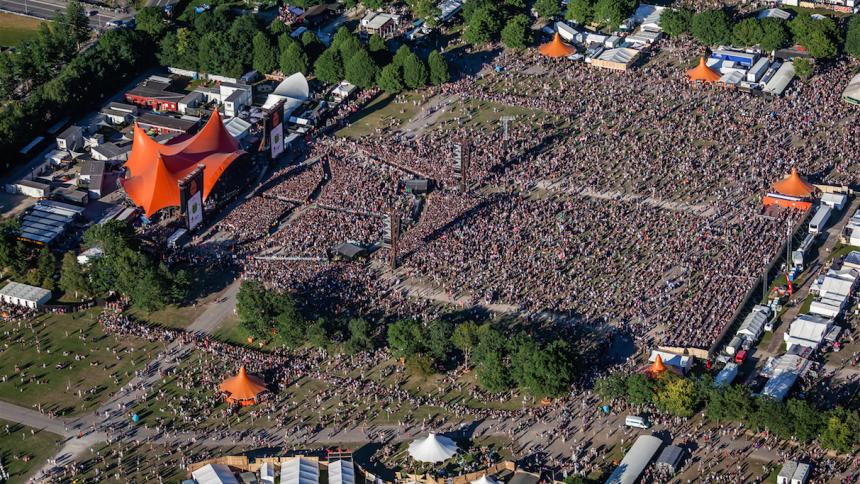 Unge iværksættere skal skabe fremtidens grønne løsninger på Roskilde Festival
