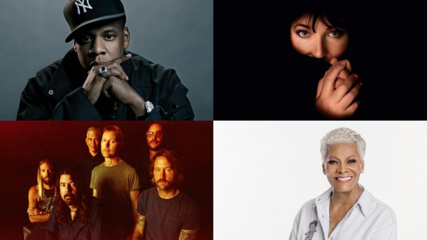 Her er de nominerede til Rock and Roll Hall of Fame