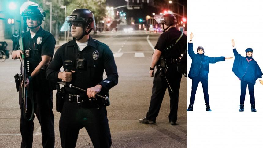 Politiet afspiller Beatles-musik, når de bliver filmet – for at udløse ophavsretsfiltre