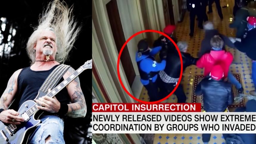 Iced Earth-guitarist erklærer sig skyldig i deltagelse i stormen på Kongressen