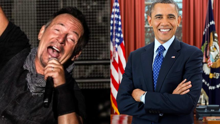 Obama og Springsteen slår sig sammen i ny podcast