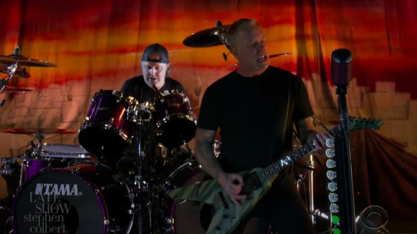 "Metallica markerer 35 års jubilæum for ""Master of Puppets"" i talkshow"
