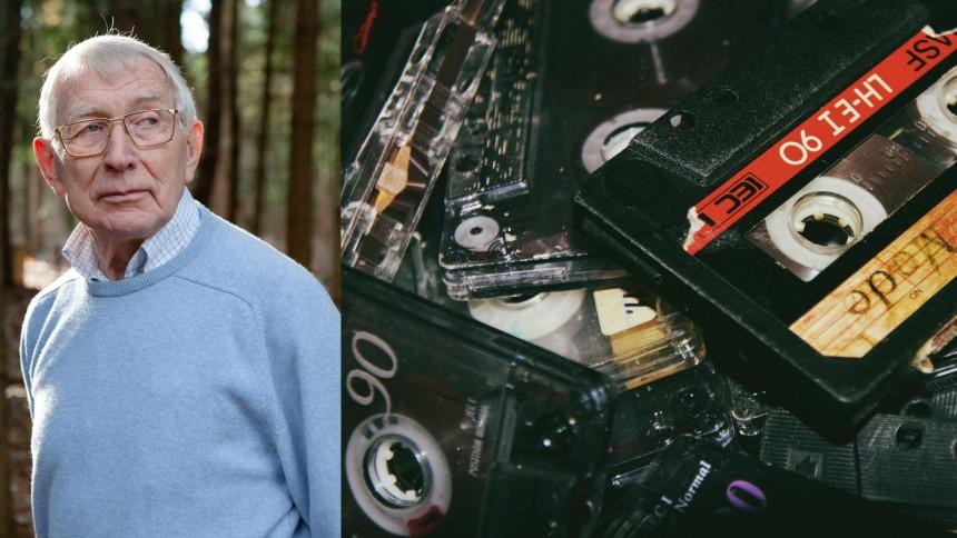 Skaberen af kassettebåndet, Lou Ottens, er død