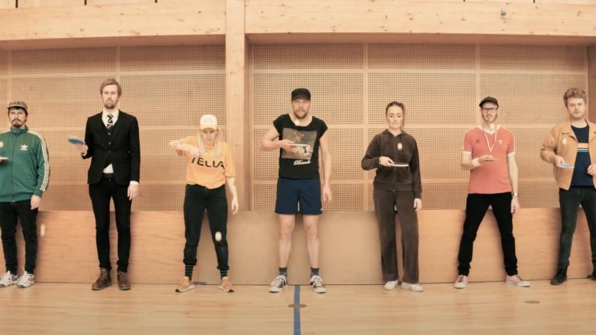 VIDEOPREMIERE: All star-bandet Nymalet går bordtennis-amok