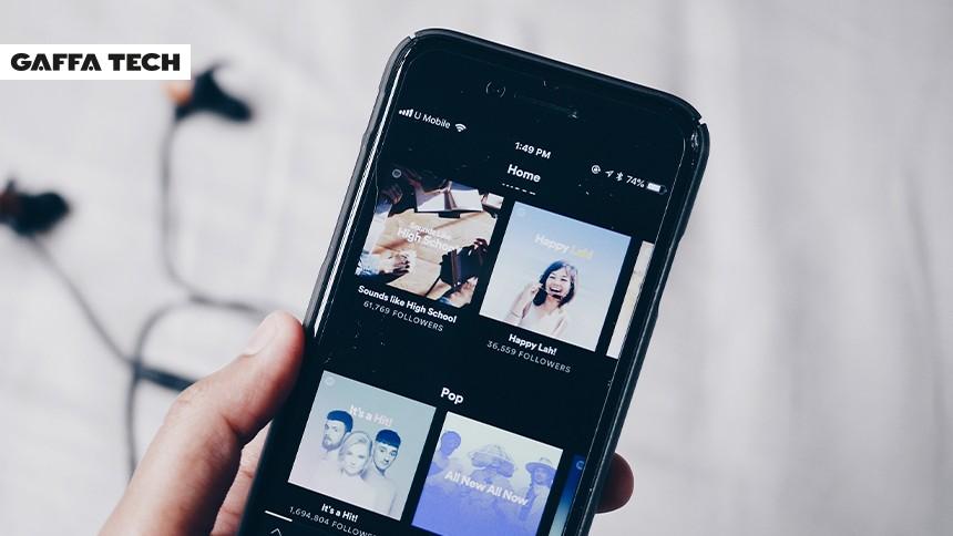 Nye personlige blandinger på Spotify