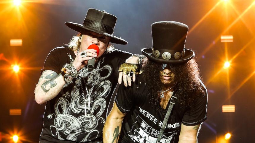 Efter 13 år –nu udgiver Guns N' Roses ny single