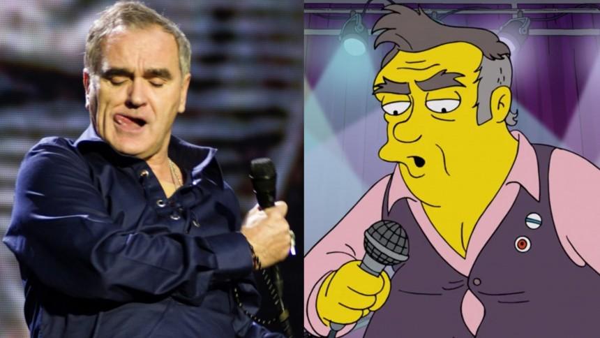 Morrissey: ''At skrive for The Simpsons kræver åbenbart kun komplet uvidenhed''