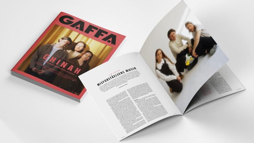 NYT GAFFA UDE: Interviews, flotte billeder, holdninger, anmeldelser og meget, meget mere