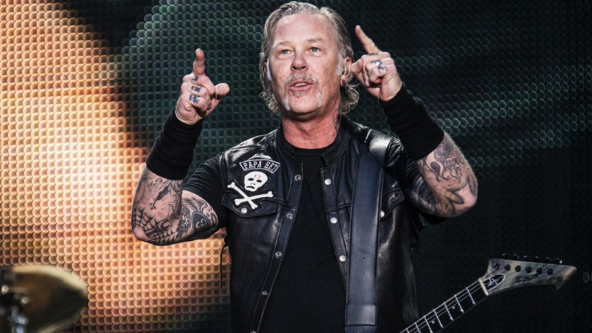 Metallica giver koncert i Danmark