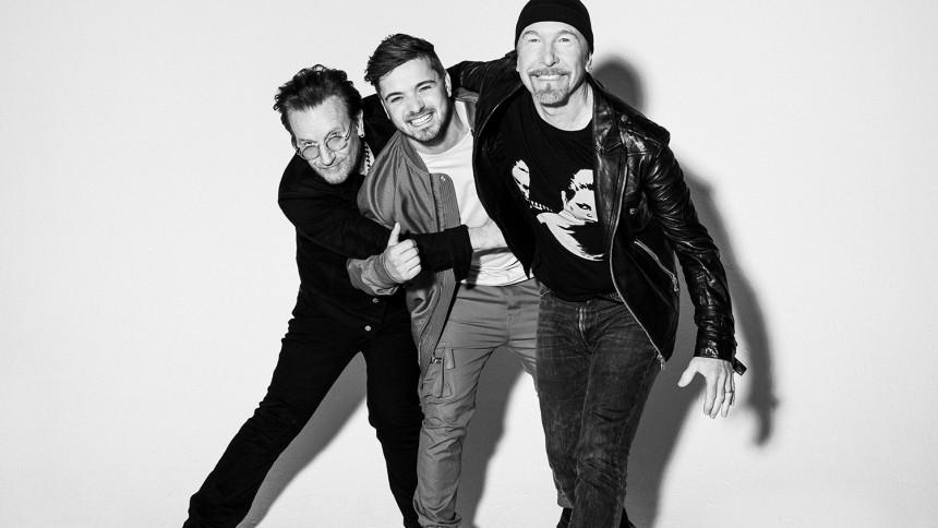VIDEO: Bono og The Edge går sammen med Martin Garrix på officiel EM-sang