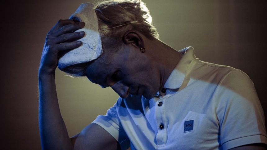 Masken krakelerede for Guldimund – i den mest positive forstand