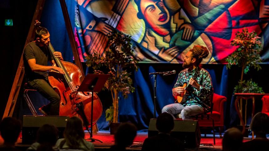 Koncert i Rundetaarn med Tobias Elof & Jonathan Bremer