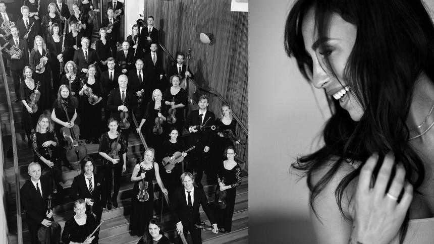 Medina drager på turné med Danmarks Underholdningsorkester