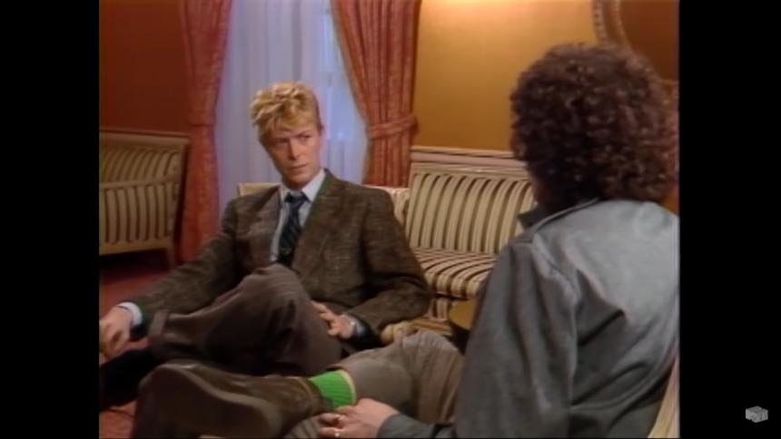 """David Bowie konfronterede MTV: """"Hvorfor spiller I så få sorte kunstnere?"""""""