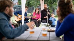 Badesøen Festival 070821 - stemning og diverse bands