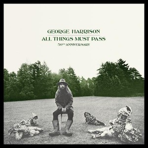 George Harrison: All Things Must Pass, 50th year anniversary super de luxe edition, 5 cd, blu-ray, hæfte.